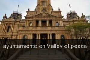 Ayuntamiento en Valley of peace
